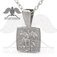 st michael pendent custommade handmade made to order 169