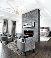 fireplace seating area in bedroom small master ideas