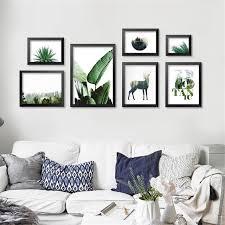 tropical wall art canvas