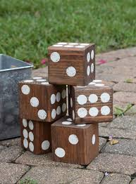 Wooden Lawn Games Homemade Wooden Lawn Dice Game Dream a Little Bigger 48
