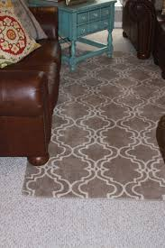 ottery barn rugs best of traditional living room with pottery barn scroll tile rug mocha