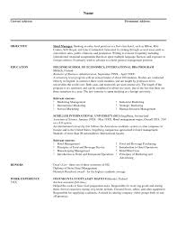 Sample Resume For Hotel Sales And Marketing 2018 Hotel Sales