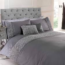 rose floral ruffle duvet quilt cover  vintage chic bedding set