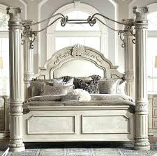 Wayfair Canopy Bed Home St Queen Four Poster Bed Reviews Wayfair ...