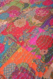Boho Quilt | ... Boho Cotton Quilt Set reverse Safia Jewel Tone ... & Boho Quilt | ... Boho Cotton Quilt Set reverse Safia Jewel Tone Retro Boho Adamdwight.com