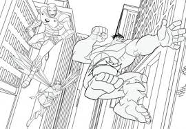 Thor Iron Man Capitan America E Hulk Disegni Da Colorare E