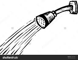 shower head clipart black and white. pin shower clipart white black #3 head and pinart