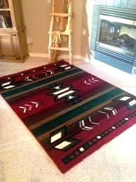 4 x 5 rugs southwest 2 red area rug washable contemporary bath