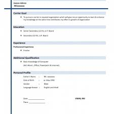 Easy Resume Template 81 Interesting Easy Resume Examples Of with Parse  Resume Example