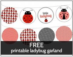 Ladybug Baby Shower Printable SetFree Printable Ladybug Baby Shower Invitations
