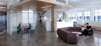 collaborative office space. Glass Walls Allow For Quiet Meeting Spaces Without Shrinking The Cool  Ideas Designing A More Collaborative Office Space Collaborative Office Space
