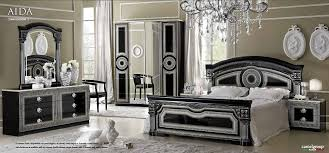 italian bed set furniture. Camel Aida Black And Silver Italian Bedroom Set With 4 Door Wardrobe Bed Furniture T
