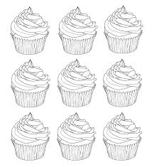 Small Picture cupcakes warhol Cup Cakes Coloring pages for adults JustColor