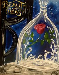 beauty and the beast s painting class