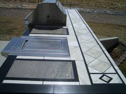 Outdoor Kitchen Countertop Outdoor Kitchens And Barbecue Islands In Fort Collins