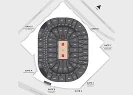 Suntrust Park Seating Chart With Rows Seating Map State Farm Arena