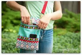 How to sew a crossbody purse with a zipper - Sew McCool & Sew a zipper crossbody purse by sewmccool 3 Adamdwight.com