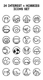 Hobbies For Resume 100 Interest N Hobbies Icons The Free Icons Would Be Debut Later 23