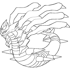 Giratina Coloring Pages Coloring Home