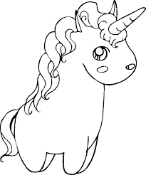 Small Picture Coloring Pages Cute Baby Unicorns Coloring Pages