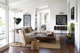 How To Blend Modern And Country Styles Within Your Home's Decor Enchanting Living Room Contemporary Decorating Ideas