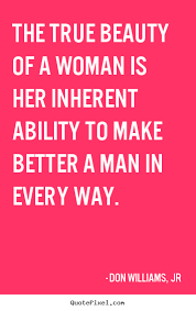 Quotes About True Beauty Of A Woman