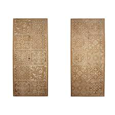 rectangle carved moroccan home decor