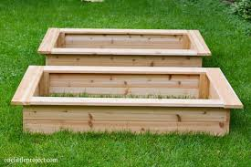 build a garden. Contemporary Garden How To Make A Garden Box  Onelittleprojectcom And Build A Garden E