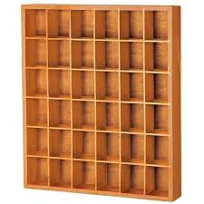 curio display case wood shot glass wall rock ikea