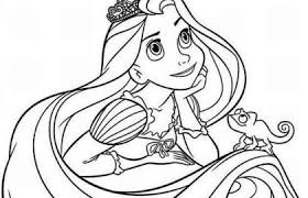 Rapunzel Coloring Pages Or Rapunzel Kleurplaat Coloring Books And