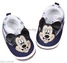 baby boy shoe size 3 toddler baby boys mickey mouse plaid slip on booties walking shoes