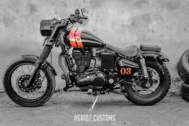 flawlessly modified royal enfield