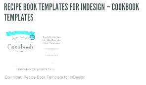 Word Recipe Book Template Stagingusasport Info