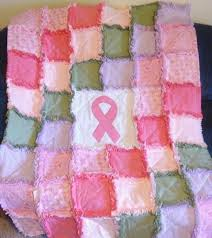 Custom Orders for Quilts, Quilt Kits, and Quilt Patterns & Custom Handmade Breast Cancer Rag Quilt Adamdwight.com