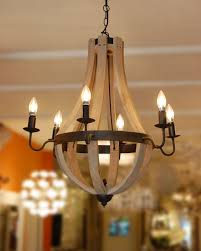 full size of lighting breathtaking wood and metal chandelier 22 capucine 1 small wood and metal