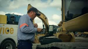 Hit The Dirt With A Holt Cat Machine Field Service Tech