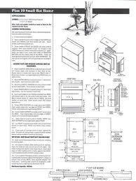 free bat house plans pdf best of free bat house plans florida bird line easy