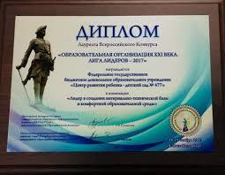 Достижения ДИПЛОМ Лауреата Всероссийского Конкурса ·