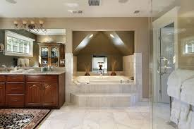 luxurious baths. luxury bathroom with large bathtub in a private alcove luxurious baths
