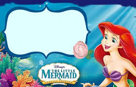 Free Little Mermaid Birthday Invitation Templates Wedding Party Dresses Innovative Little Mermaid Party Ariel