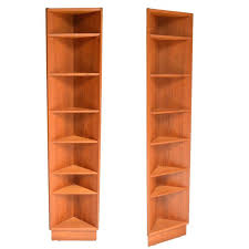 Corner Shelves For Sale Magnificent Pair Of Teak Corner Shelves For Sale At 32stdibs