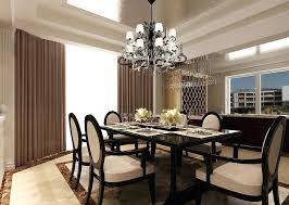 elegant dining room chandelier height light to hang fixture