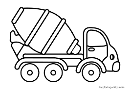 Small Picture Cement mixer truck Transportation coloring pages Coloring pages