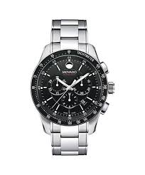 movado men s series 800 chronograph watch 42 mm performance steel movado men s series 800 chronograph watch 42 mm performance steel black aluminum tachymeter bezel