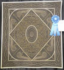 Quilt Inspiration: February 2014 & Winner of First Place for Wall Quilts-Traditional, we were intrigued by the  intricate quilting on this whole cloth quilt. The quilter, Laura Trendeath  ... Adamdwight.com