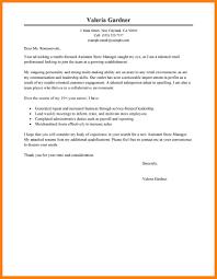 8 Retail Manager Cover Letter Applicationleter Com