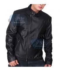 iron man tony stark slim fit hot biker rider faux leather jacket