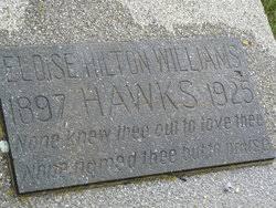 Eloise Hilton Williams Hawks (1897-1925) - Find A Grave Memorial