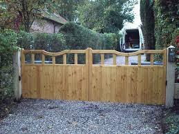 derbyshire wooden driveway gates 4ft high