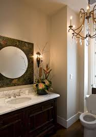 Powder Room Lighting hot summer trend 25 dashing powder rooms with tropical flair 6081 by xevi.us